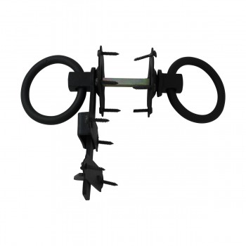 <PRE>Floral Gate Latch Heavy Duty Wrought Iron 5inch W </PRE>zoom11