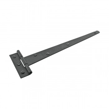 <PRE>T Strap Door Hinge RSF Black Iron Light Duty Hinge 11inch </PRE>zoom4
