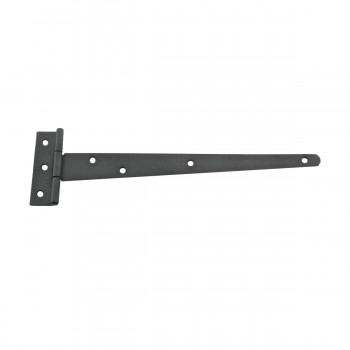 T Strap Door Hinge RSF Black Iron Light Duty Hinge 11