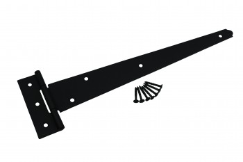 T Strap Door Hinge Black RSF Iron 13