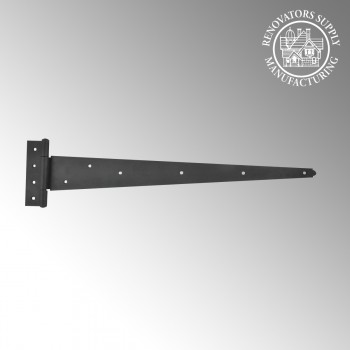 <PRE>Tee Hinge Wrought Iron Hinges RSF Finish Black Hinges For Doors 25 1/4</PRE>zoom2
