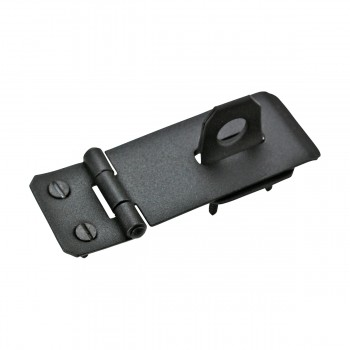 <PRE>Hasp Black Iron 1 3/4inch H x 4 1/4&quot; W </PRE>zoom5