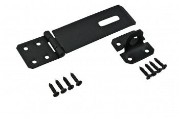 Hasp Black Wrought Iron 1 58 H x 5 78 W