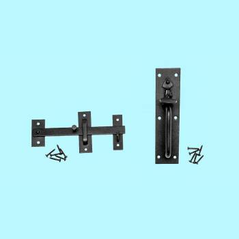 <PRE>Black Iron Gate Door Latch Lock Norfolk Door Latches Hardware</PRE>zoom2