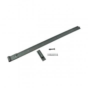 <PRE>Pintle Door Hinge Black Heavy Duty Wrought Iron 48inch </PRE>zoom6