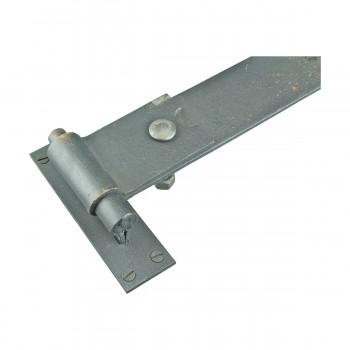 <PRE>Pintle Door Hinge Black Heavy Duty Wrought Iron 48inch </PRE>zoom9