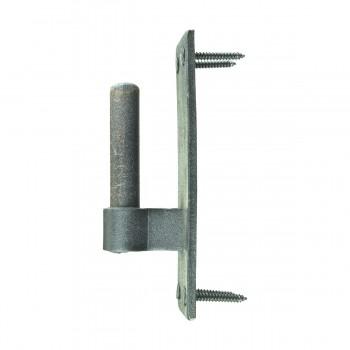 <PRE>Pintle Door Hinge Black Heavy Duty Wrought Iron 48inch </PRE>zoom11