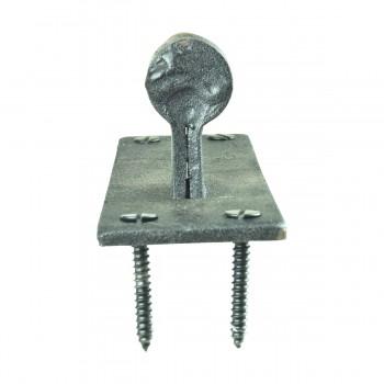 <PRE>Pintle Door Hinge Black Heavy Duty Wrought Iron 48&quot; </PRE>