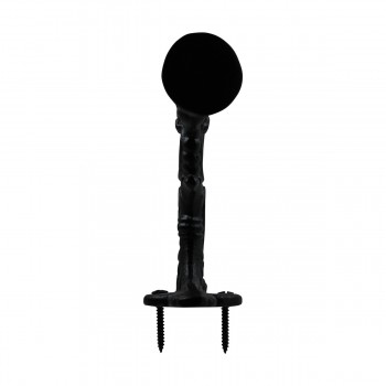 <PRE>Double Coat Hook Wrought Iron Black 7inch </PRE>zoom6