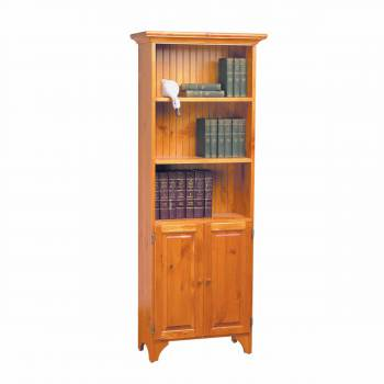 Cottage Bookcase Heirloom Pine Stain