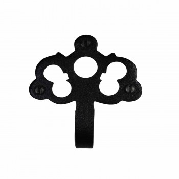 <PRE>Hook Wrought Iron Black RSF Coat 2 1/8inch H </PRE>zoom4
