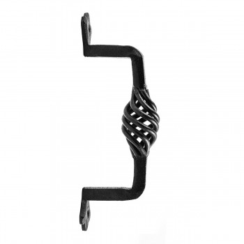 "<PRE>Door Pull Wrought Iron Birdcage 5 1/4inch L x 1 3/4"" Proj. </PRE>zoom1"