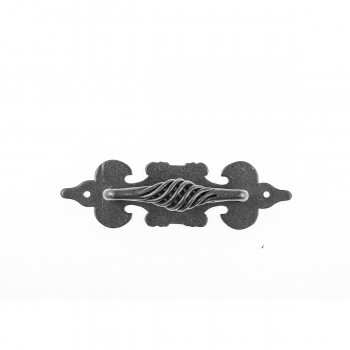 <PRE>Cabinet Pull Birdcage Black Wrought Iron 6inch </PRE>zoom9