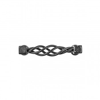 <PRE>Drawer Pull Cabinet Birdcage Black Wrought Iron 3 1/2inch </PRE>zoom6