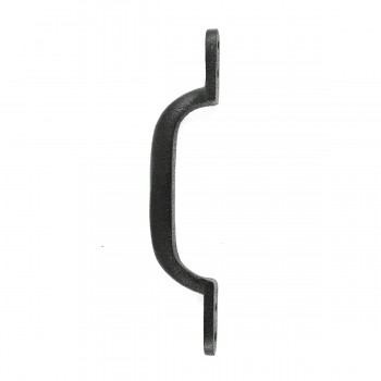 <PRE>Door Pull Black Wrought Iron Pull 6inch </PRE>zoom8