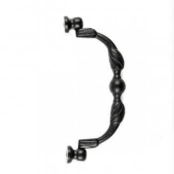 <PRE>Drawer Pull Wrought Iron Black Rustproof </PRE>zoom3