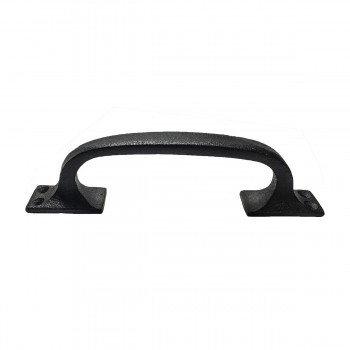 <PRE>Door Pull Black Wrought Iron 6inch </PRE>zoom1