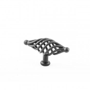 <PRE>Black Cabinet Pulls Birdcage Iron Door Or Drawer Pulls Black 3 1/4 Inch</PRE>zoom4