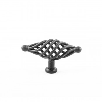 <PRE>Black Cabinet Pulls Birdcage Iron Door Or Drawer Pulls Black 3 1/4 Inch</PRE>zoom5