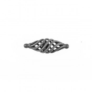 <PRE>Black Cabinet Pulls Birdcage Iron Door Or Drawer Pulls Black 3 1/4 Inch</PRE>zoom7