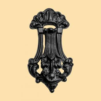 <PRE>Black Door Knocker Cast Iron Door Knockers for Front Door 7 1/2 Inch X 4 Inch</PRE>zoom2
