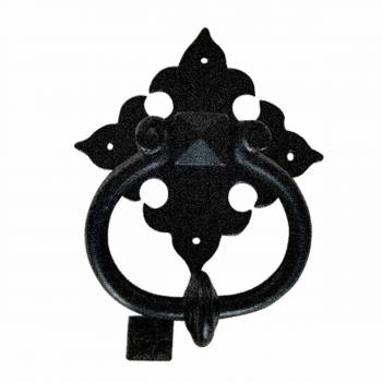 Door Knocker Black Cast Iron Brand New 6 1/2