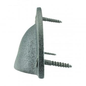 Cabinet or Drawer Bin Pull Black Iron Cup 4 W x 1 34 H Bin Pulls Black Wrought Iron Bin Pull Cabinet Door Bin Pull