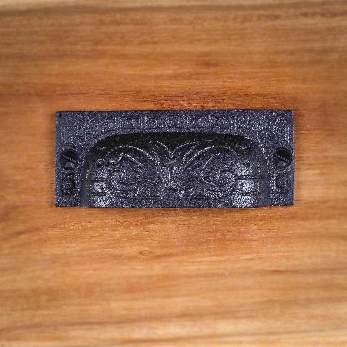 Cabinet or Drawer Bin Pull Black Iron Cup 3 12 x 1 14 H Cabinet Pull Cabinet Hardware Cabinet Pulls