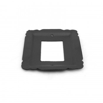 Switchplate Black Steel SIngle GFI RSF Switch Plate Wall Plates Switch Plates