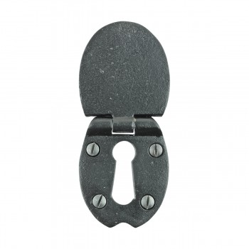 <PRE>Escutcheon Black Wrought Iron 2 1/2inchH </PRE>zoom3