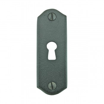 <PRE>Escutcheon Black Wrought Iron Keyhole Cover 3inchH </PRE>zoom4