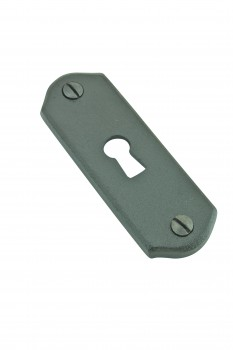 Keyhole Cover  Escutcheon Wrought Iron 3 H