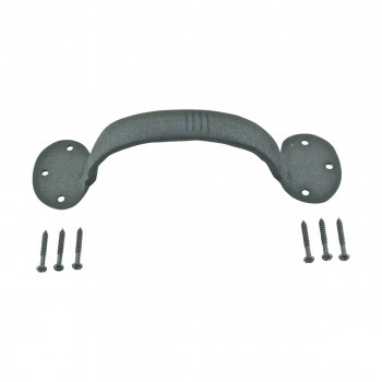 <PRE>Door Pull Black Wrought Iron Bean 6 1/2inch </PRE>zoom9