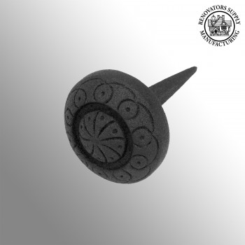 <PRE>Wrought Iron Nails Clavos Black Decorative Round Iron Nails 3 Inch X 2 Inch</PRE>