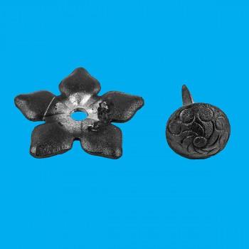 <PRE>Clavos Decorative Nail Big Head Black Iron 3inch H  </PRE>zoom2