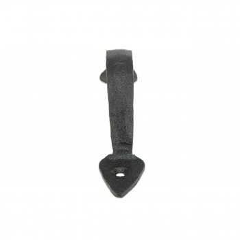 <PRE>Door or Drawer Pull Black Wrought Iron Spade 5inch </PRE>zoom5