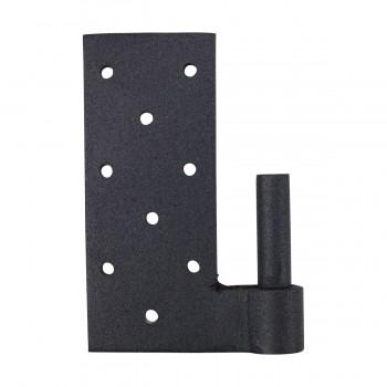 Door Hinges Black Wrought Iron Bean Pintle Hinge 24 Wrought Iron Nails For Wood Black Iron Nails Clavos Decorative Nails