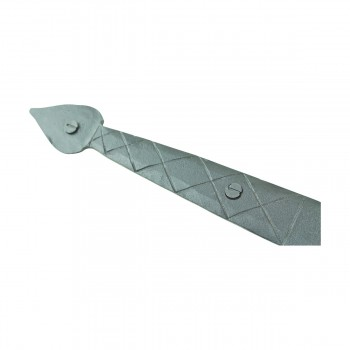 <PRE>Heart Diamond Etch Pintle Door Hinge Wrought Iron 14inch</PRE>zoom11