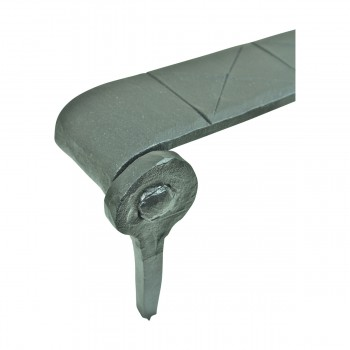 <PRE>Spear Diamond Etch Pintle Door Strap Hinge Iron 15inch </PRE>zoom9