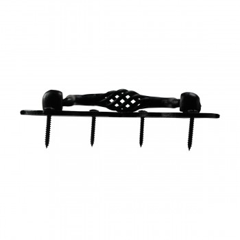 <PRE> Birdcage Drawer Pull Black Wrought Iron 3 1/2'' </PRE>zoom5