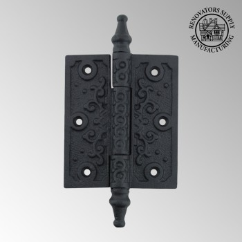 <PRE>Victorian Door Hinge Steeple Tip Wrought Iron Hinges 3 Inch</PRE>zoom2