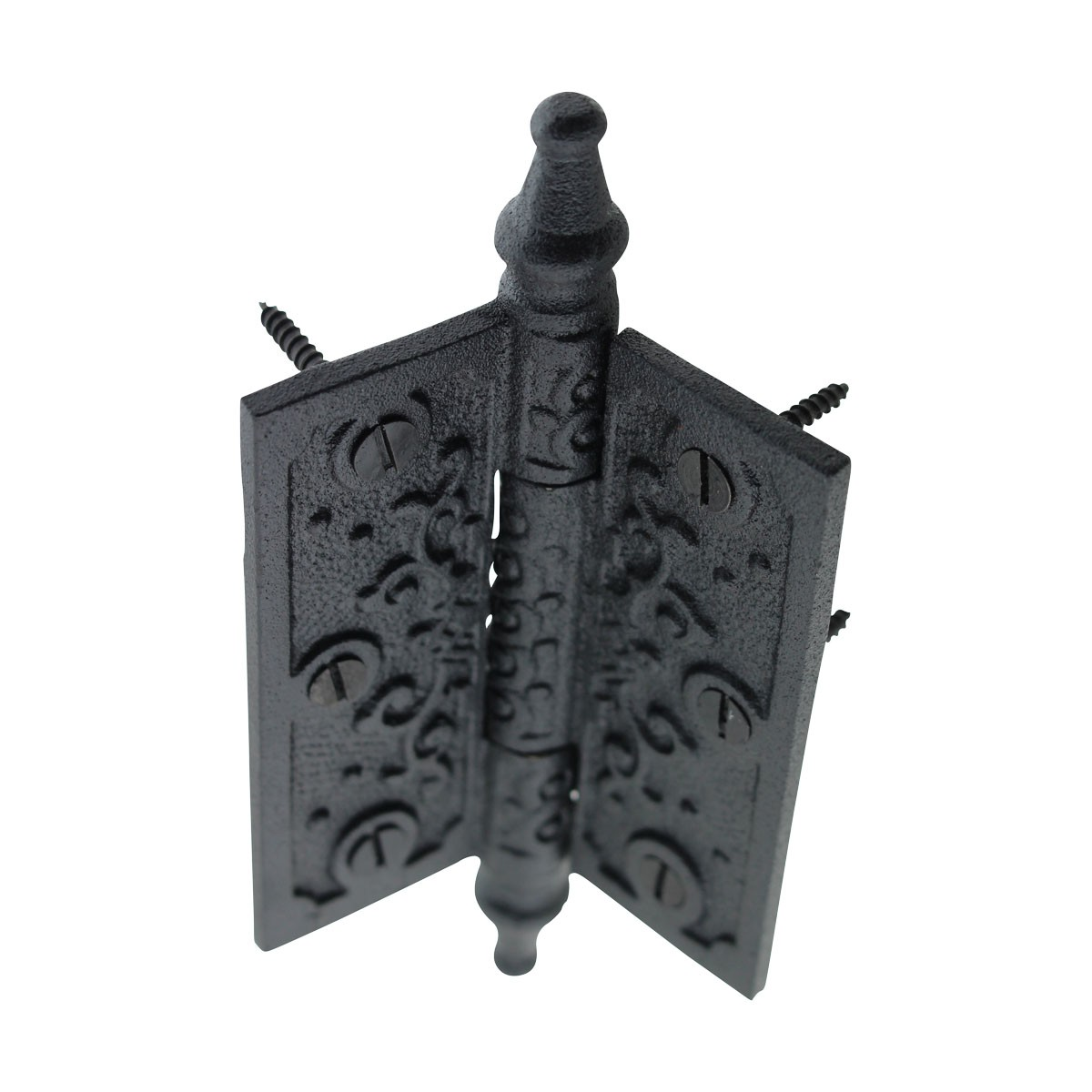 Victorian Door Hinge Steeple Tip Wrought Iron Hinges 3 Inch Steeple Tip Hinge Butt Hinge Wrought Iron Victorian Hinges