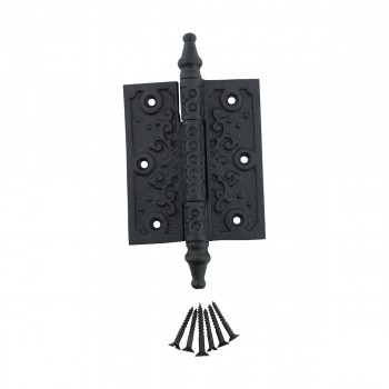 <PRE>Victorian Door Hinge Steeple Tip Wrought Iron Hinges 3 Inch</PRE>zoom3