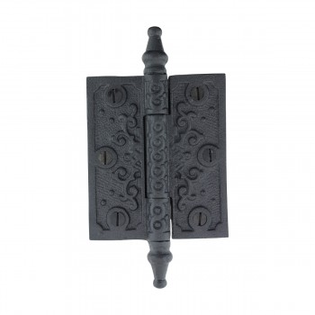 <PRE>Victorian Door Hinge Steeple Tip Wrought Iron Hinges 3 Inch</PRE>zoom4