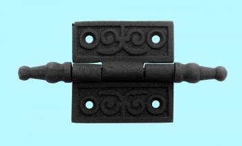 <PRE>Victorian Door Butt Hinge Steeple Tip Wrought Iron 2inch W </PRE>zoom2