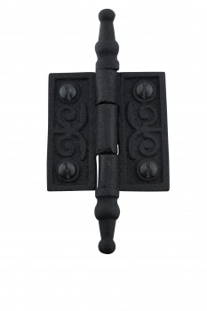 Victorian Door Butt Hinge Steeple Tip Wrought Iron 2