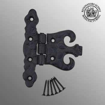 Wrought Iron Cabinet Hinge Black Rustproof Wrought Iron Cabinet Hinges Rustproof Cabinet Hinges Black Door Hinges