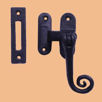 Sash Door Window Lock Black Wrought Iron 4 12 Wrought Iron Sash Lock Sash Window Locks Black Sash Lock