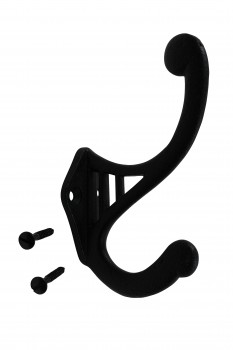 Black Wrought Iron Hook RSF 4 1/2