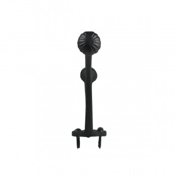 <PRE>Hat Coat Hook Wrought Iron Black </PRE>zoom9